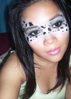 Dalmatian face paint