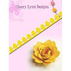 -Cheery Lynn Designs B150 Cuties Spiral Flower 2 Cutting Die