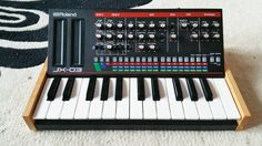 ROLAND BOUTIQUE K25M SOLID AMERICAN CHERRY END CHEEKS JX03 JU06 JP08 in Musical Instruments, Pro Audio Equipment, Synthesisers & Sound Modules   eBay