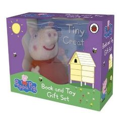 Peppa Pig book and stuff toy for Izzy