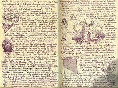 Pan's Labyrinth tree design from  Guillermo Del Toro notebooks