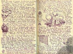 ARTISTA. Guillermo Del Toro notebooks
