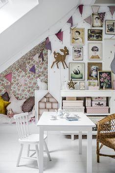Flowerful Kids Rooms