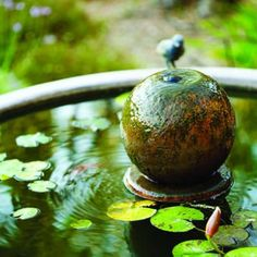 garden water fountains: