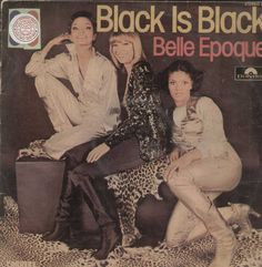 Black Is Black Belle Epoque English Vinyl LP
