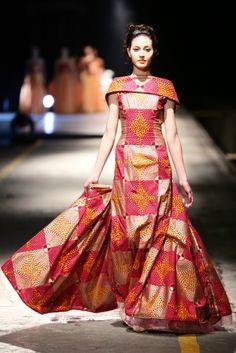 FAB Runway: David Tlale at Mercedes Benz Fashion Week Africa 2013