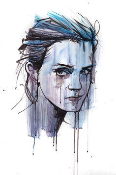 Emma Watson. Oil on Board by Jamel Akib www.jamelakib.com