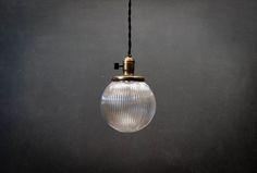 Holophane Prismatic Globe Pendants : Factory 20