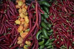 How To Preserve A Whole Season Of Hot Peppers With Virtually No Work