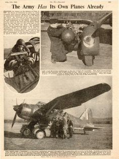 Westland Lysander liaison aircraft plane WW2 print 1941 WWII 2WK