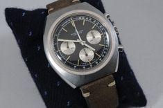 Vintage Triple reg. Breitling Chronograph Ref. 1450 with Valjoux 7736