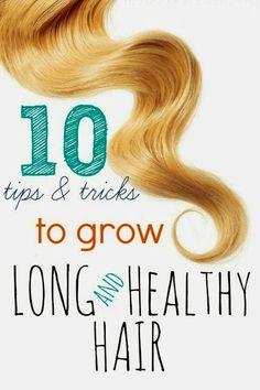 10 Tips & tricks To Grow Your Hair Long - The Beauty Goddess