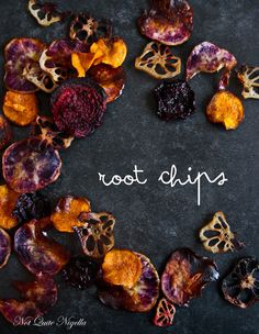 Easy Do It Yourself Crispy Baked Root Vegetable Chips!