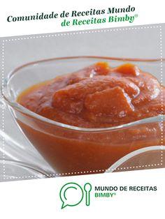 Ketchup de Equipa Bimby. Receita Bimby<sup>®</sup> na categoria Acompanhamentos do www.mundodereceitasbimby.com.pt, A Comunidade de Receitas Bimby<sup>®</sup>.