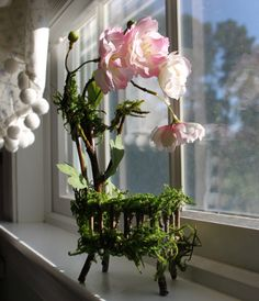 Blossom Fairy Bed Fairy Crib by Olive Fairy by OliveNatureFolklore