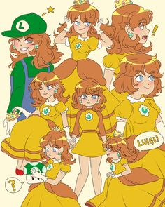 So I heard that Daisy is joining the new super smash bros I am happy :') Super Mario Bros, Super Mario Brothers, Super Smash Bros, Mario Bros., Mario And Luigi, Mario Kart, Princesa Daisy, Princesa Peach, Yandere