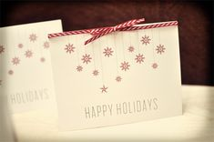 Free Printable Holiday Gift Cards | Smitten On Paper