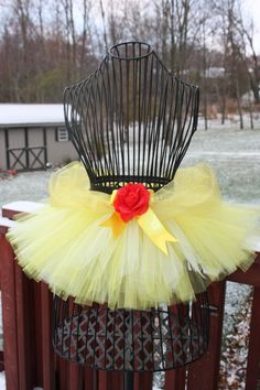 Belle Tutu by Tutus4Ewe on Etsy, $28.00