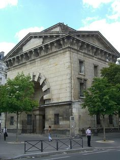 Barrière du trône, pavillon d'octroi (1784-1787) – Avenue du trône, Paris XII