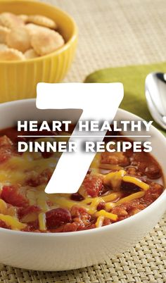 7 Heart Healthy Recipes, all 30 minutes or less, 7 ingredients or less, to kick-start 2015! | New year, new dinner!