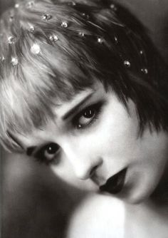 """Louise Brooks - classic  """"(Later in life), I found that the only well-paying career open to me, as an unsuccessful actress of thirty-six, was that of a call girl…and I began to flirt with the fancies related to little bottles filled with yellow sleeping pills."""""""