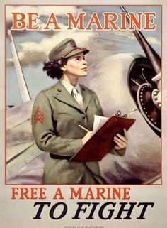 Google Image Result for http://www.barewalls.com/i/c/417635_Vintage-1944-WWII-Marine-Woman-Poster.jpg