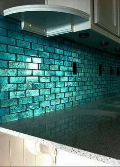 Coastal Gl Tile Aqua Teal Turquoise Home Decor Design