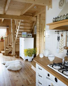 Adorable Wooden Cottage – Adorable Home Cabin Design, Cottage Design, House Design, Wooden Cottage, Wooden House, Cabin Interiors, Wood Interiors, Cabin Homes, Log Homes