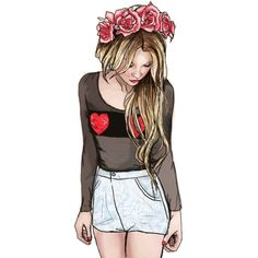 amazing drawing via Tumblr We Heart It ❤ liked on Polyvore featuring fillers and backgrounds