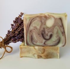 Lavender Rosemary Scented Soap by emilyshandmadesoaps, $7.00 USD