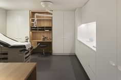 Interieurfotografie van dokterspraktijk voor Aerts+Blower interieurarchitecten. © foto's Liesbet Goetschalckx