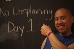 A Complaint Free World @Lauren Burkhardt @Chelsea Grover @Amanda Pilgrim  Let's start Monday with just the Complaining aspect.  The others can come later.  One thing at a time is much more achievable.  Bring a bracelet on Monday!!!