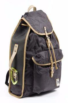 Diesel Backpack K2 Dark Brown