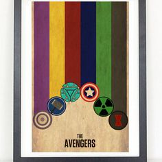 The Avengers - Thor, Captain America, Iron Man, Black Widow, Hulk, Hawkeye from Coliseum Graphics