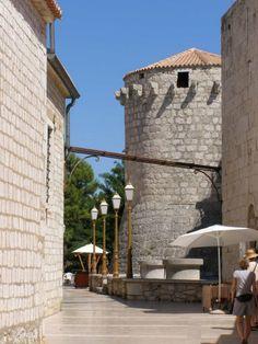 City walls, Krk, Croatia