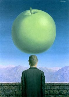The Postcard~Rene Magritte | Lone Quixote | #ReneMagritte #magritte #surrealism #art #painting