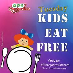 We love having our little customers around. Come by for Kids Eat Free Tuesday. Enjoy your favorite Mexican fares while the kids eat on the house. T's & C's apply. Your Favorite, Tuesday, Conditioner, How To Apply, Mexican, Restaurant, Eat, Kids, House