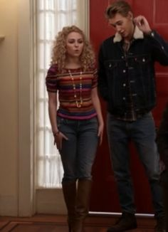 "Carrie's Anthropologie Here & There Tee, Stripes The Carrie Diaries Season 1, Episode 9: ""The Great Unknown"" - Spotted on TV"