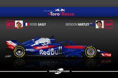 Guide F1 2018 - Toro Rosso relève le défi Honda - Motorsport.com