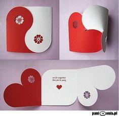 Valentine Collection (Yin Yang Card Gift Box Chipboard Balls Banner) SVG DXF PDF Machine Cuttable Files no items will be shipped Yin Yang, Saint Valentine, Valentines Day Decorations, Valentine Day Crafts, Valentine Messages, Karten Diy, Boyfriend Crafts, Paper Crafts, Diy Crafts