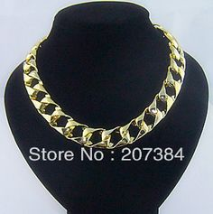 http://www.aliexpress.com/item/S805wholesale-fashion-women-jewelry-gold-colour-Collar-necklace-choker-chain-necklace-statement-necklaces-items-10free-shipping/734903748.html  S805wholesale fashion women jewelry gold colour Collar necklace choker chain necklace statement necklaces items,$10free shipping-in Choker Necklaces from Jewelry on Aliexpress.com