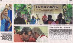 LĀ KŪ`OKO`A - HAWAI`I INDEPENDENCE DAY 2014 REMEMBERED - http://FreeHawaii.Info