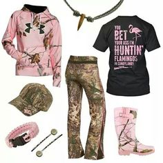 okay I'm a big fan of all the pink camo in this outfit but I soooo want to make those bobby pins! Country Style Outfits, Country Girl Style, Country Fashion, My Style, Country Life, Country Wear, Camo Outfits, Cowgirl Outfits, Cowgirl Style