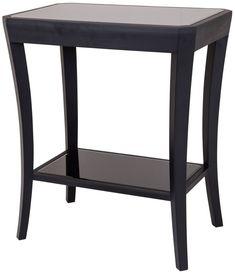 RV Astley Hyde Black Side Table