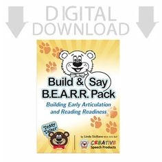 Transform learning with Teddy Talker, our unique multisensory tool to build and connect important speech, language and literacy skills. Though our kid-friendly bear face and its moveable pieces, children use hearing, vision, touch and movement to learn about speech sounds and connect them to print.Introduce Teddy through our Build and Say BEARR Pack. .