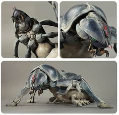 Alien Creatures, Fantasy Creatures, Starship Troopers Bugs, Aliens, Science Fiction, Character Art, Character Design, Ghost Movies, Fantasy Demon