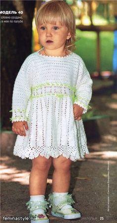 Para amantes de la moda joven: el vestido de ganchillo (un aumento de los 80-100cm). Debate sobre LiveInternet - Servicio Ruso diario en línea