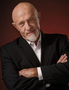"Jonathan Banks (Mike in ""Breaking Bad"" and ""Better Call Saul""). Serie Breaking Bad, Carlito's Way, New Jack City, Mafia Crime, Jonathan Banks, Jackie Brown, Dont Drink And Drive, Call Saul, Point Break"