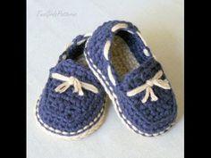 Bebek Ayakkabı Patik Yapımı - YouTube