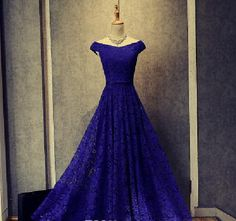 Sale Admirable Lace Evening Dresses Elegant Regency Lace Evening Gowns Cap Sleeve Formal Mother Of The Bride Dresses Blue Lace Prom Dress, Royal Blue Evening Dress, Royal Blue Prom Dresses, Prom Dresses Two Piece, Lace Evening Gowns, A Line Prom Dresses, Long Bridesmaid Dresses, Prom Party Dresses, Prom Gowns